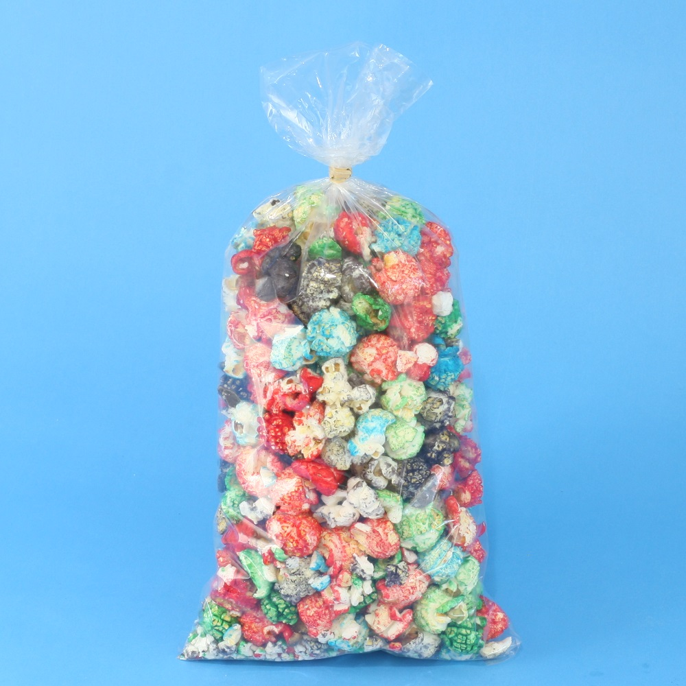 "Kettle Corn Bag Cello - 6"" x 15"" x 1.2 mil (11-12 cups).  Sold by the case, 1000/cs"